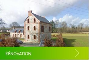 Rénovation maison Morbihan 56